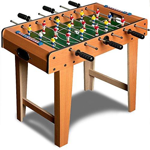 Mesa de futbolín para niños con 18resistente minimuñecas y pelotas