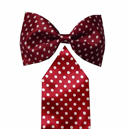 Navaksha Maroon Bow Tie with Pocket Square  available at amazon for Rs.525