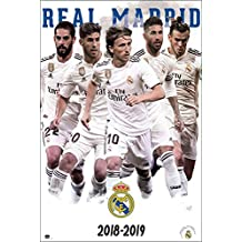 Close Up Póster Real Madrid - Equipo Jugadores  Temporada 2018 2019  ( ea67d5a17c9b4