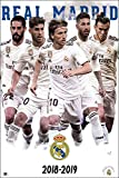 Close Up Real Madrid Poster Mannschaft Saison 2018/19 (61cm x 91,5cm)