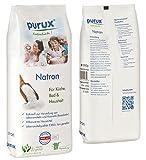 Purux Natron Natriumhydrogencarbonat NaHCO3 Natriumbicarbonat E500 ii Backsoda, 6000 g - 2