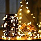 LED Ball String Lights, Zimingu 5m USB Globe Weihnachten Fairy Light, 50 Kleine Birne Perfekt für Indoor, Outdoor, Gart