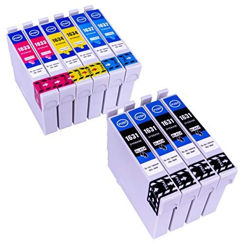 ESMOnline 10 komp. XL Tintenpatronen zu Epson Workforce WF-2010W WF-2510WF WF-2520NF WF-2530WF WF-2540WF WF-2650DWF WF-2660DWF WF-2750DWF WF-2760DWF (Wf2530 Epson-tinte 200)