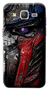 Mott2 Back Case for Samsung Galaxy ON7 | Samsung Galaxy ON7Back Cover | Samsung Galaxy ON7 Back Case - Printed Designer Hard Plastic Case - Transformers theme