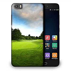 Snoogg Big Golf Court Designer Protective Phone Back Case Cover For Samsung Galaxy J1