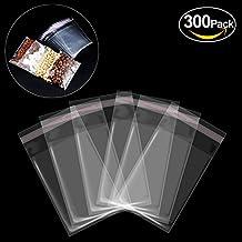 Bustine trasparenti per confetti, Yosemy [300pcs 7*10cm] Bustine di plastica con chiusura richiudibile