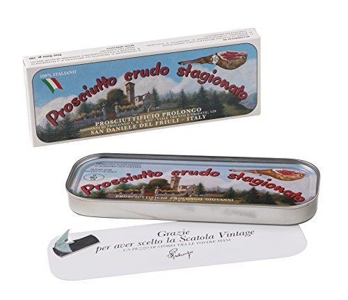 Handwerkliche Premium Rohschinken Prosciutto San Daniele 150g hauchdünn frisch geschnitten in der...