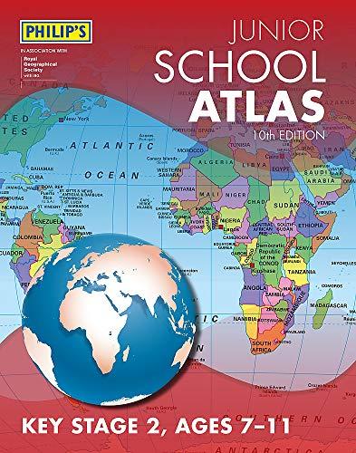 Philip's Junior School Atlas 10th Edition por Philip's Maps