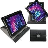 360° 10pulgadas Negro Tablet Funda Carcasa STAND funda para Teclast X16Plus 10.6