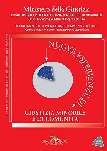 Nuove esperienze di giustizia minorile e di comunit - Unico 2015