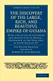 The Discovery of the Large, Rich, and Beautiful Empire of Guiana: With a Relation of the Great and Golden City of Manoa... Performed in the Year 1595, ... Library Collection - Hakluyt First Series) by Sir Walter Raleigh (2010-02-25)