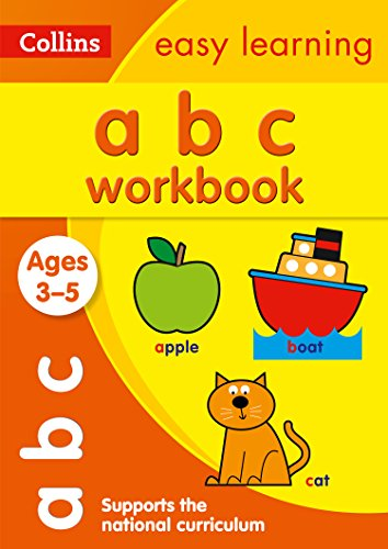 ABC Workbook Ages 3-5: New Edition (Collins Easy Learning Preschool) por Collins Easy Learning