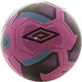 Umbro Neo Futsal Liga - Balón futbol sala, color rosa / negro / morado cactus / bluebird, talla 4