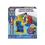 Kinetic Sand 6027965 - Kinetic Sand PAW Patrol Sandspiel Set, Helfer auf vier Pfoten, Fernsehhelden, Hunde, Förmchen