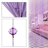 Best None Blinds - Decorative Door String Curtain Beads Wall Panel Fringe Review