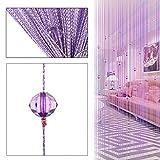 Dekorative Tür String Vorhang Perlen Wall Panel Fringe Raumteiler Fensterjalousie für Hochzeit Kaffee Zimmer Restaurant