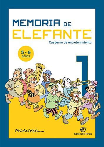 Memoria elefante 1: cuaderno entretenimiento: