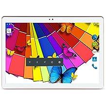 Hot News MaiTai 10Inch Tablet PC Android 7.01280* 800IPS Tablet PC Quad Core RAM 2GB ROM 16GB 3G Dual SIM Card Phone Call GPS Bluetooth 7910.6White