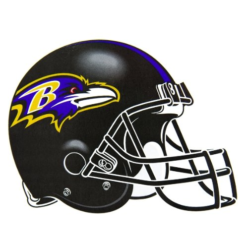 Old Glory Baltimore Ravens Helm Indoor/Outdoor Magnet Home Décor
