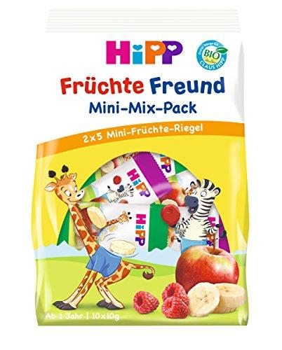 Hipp Bio-Riegel Früchte-Freund Mini-Mix-Pack, 7er Pack (7 x 10 x 10g)