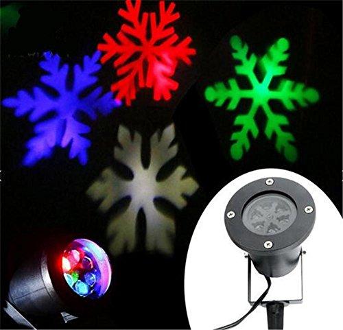 Proiettore Luci Natalizie Opinioni.Lucky Clover A Natale Proiettore Girevole Colorato Luce Lampada