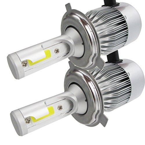 2* H8H9H11 Faro Bulbi Auto LED Luci, NuoYo Faro Della Luce Conversion Kit Auto Impermeabile IP65 110W 9200LM 50.005 Ore di Durata, Bianco.