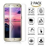 Fuleadture Samsung Galaxy S7 Edge Panzerglas Schutzfolie, [2 Stück] 99%TransparenzFullHD Panzerfolie Ultra-klar Panzerglas Schutzfolie Kompatible für Samsung Galaxy S7 Edge