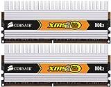 Corsair TWIN2X4096-6400C5DHX XMS2 Memoria per Desktop a Elevate Prestazioni da 4 GB (2x2 GB), DDR2, 800 MHz, CL5
