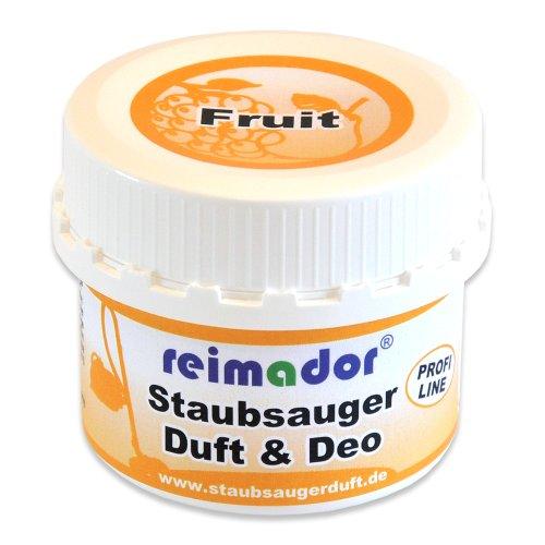 reimador Staubsaugerduft Fruit inklusive hochwirksamen Geruchsentferner und Fruchtduft für 4 Anwendungen