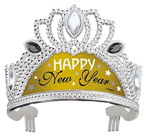 Kunststoff Silber und Gold New Years Tiara