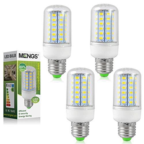 4X MENGS® E27 LED Lampe 5W 7W 9W 10W 15W AC 220-240V Kaltweiß 6500K 5730 SMD