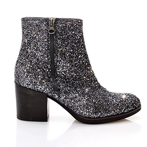 Gaimo  Gaimo 905graff,  Damen Booties Graphitgrau