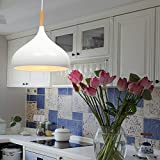 Modern Industrielle Vintage Einzel Hängeleuchte Pendelleuchten - MOTENT Minimalist Ceiling Lampe 9,45