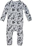 Papfar Baby-Jungen Spieler Single Jersey GOTS Zertifiziert, Grau (Pearl Grey Melange 130), 68 (Herstellergröße: 6M)