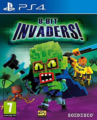 8-Bit Invaders (PS4) Best Price and Cheapest