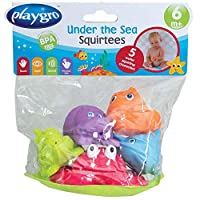 Playgro Under The Sea Squirtees Baby Infant Toy , Pack of 1