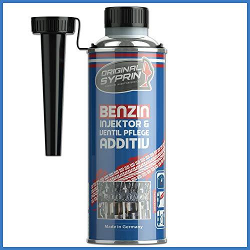SYPRIN Original Benzin Additiv Benzinsystem-Additiv Injektor Ventilpflege Benzinzusatz Kraftstoff-Additiv Additive Kraftstoff-Zusatz 250 ml