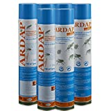 6 x 750 ml Ardap Ungezieferspray Quiko Das Original mit Langzeitwirkung