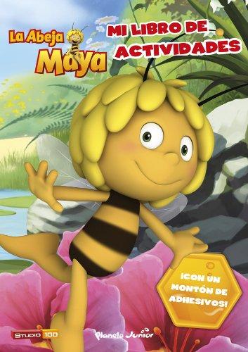 La Abeja Maya. Mi libro de actividades (La Abeja Maya 3D)