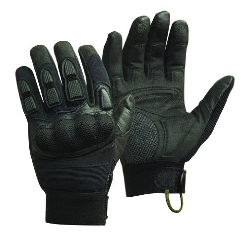 Handschuhe CamelBak Glove Magnum Force MP3 Schwarz, Schwarz, L