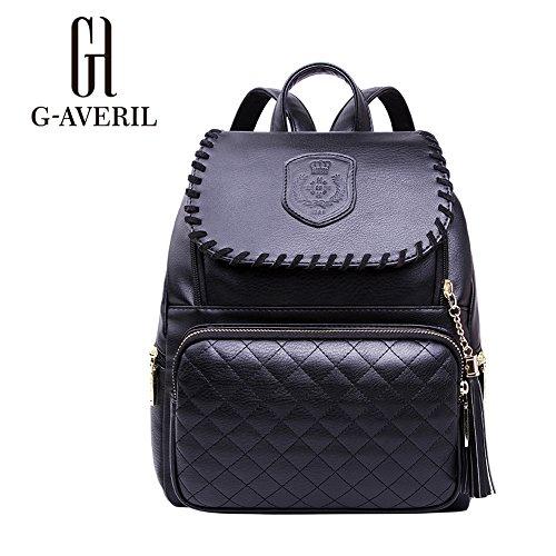 G-AVERIL GA1155-B, Borsa a mano uomo Nero black black