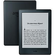 """Kindle, écran tactile 6"""" (15,2 cm), sans éclairage intégré, Wi-Fi (Noir) - Avec Offres spéciales"""