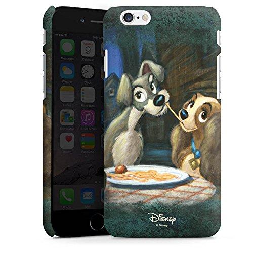 Apple iPhone 6 Silikon Hülle Case Schutzhülle Disney Susi & Strolch Fanartikel Merchandise Premium Case matt