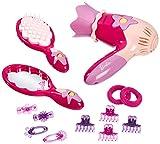 Klein - 5702 - Coiffure - Set de Coiffure Barbie avec Sèche-cheveux et Accessoires