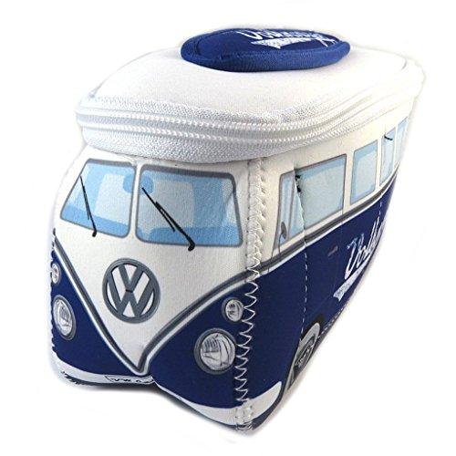 Volkswagen [P1134] - Trousse de Toilette 'Volkswagen' Marine Blanc - 23x13x7.5 cm