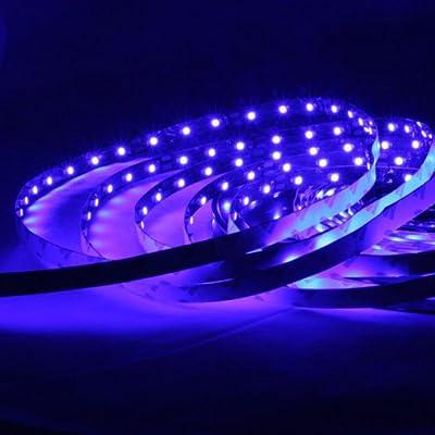 Lighting EVER® Flexible LED Streifen, Blau, 300 Einheiten 3528 LEDs, 5M jeder Packung, DIY-Beleuchtung,Dekorationsleuchtung, LED Lichtschlauch, Nicht Wasserdicht von Lighting EVER - Lampenhans.de