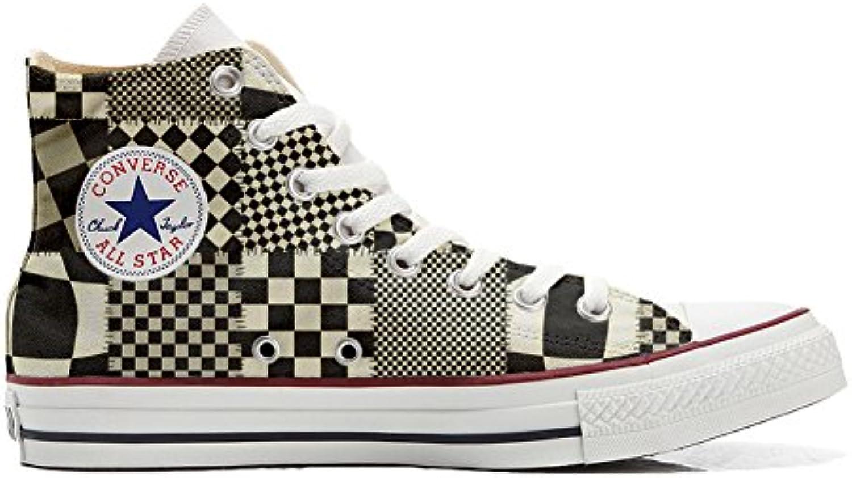 Converse All Star Zapatos Personalizados (Producto Handmade) Fluo Pasley -
