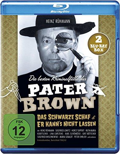 Pater Brown - Die besten Kriminalfälle: Das schwarze Schaf/Er kann's nicht lassen [Blu-ray]