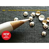 Set of Two (2) Magical Sticky Pick Up Pencils for picking up and transferring Tiny Embellishments