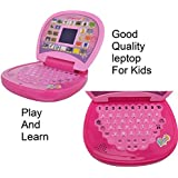 Pihu Kids Laptop, LED Display, With Music,Educational Laptop With Led Screen, Multi Color + ( Free Magnetic Magic Slate Education Learning ) For Kids Boy & Girl Best Offer